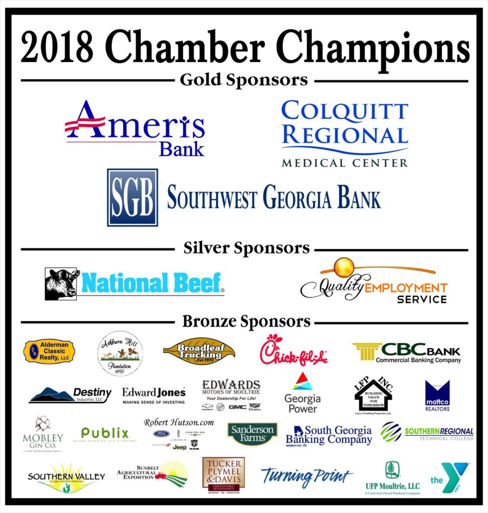 2018 Chamber Champions Logos Banner