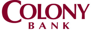 Colony bank - white background